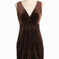 Haute Chocolate Velvet Dress | Modern Vintage Dresses