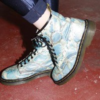 Vintage Fake Snake Dr Martens Boots | Sam Greenberg Vintage | ASOS Marketplace