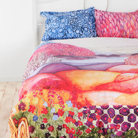 Plum & Bow Painted Hills Sham - Set Of 2- Multi One