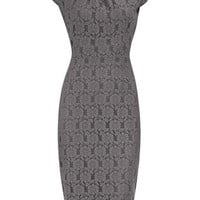 Grey lace pencil dress - View All New In - What's New - Dorothy Perkins