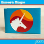 Unicorn Magic Duct Tape Wallet  by jDUCT by jDUCT on Etsy