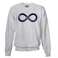 Amazon.com: To Infinty and Beyond Galaxy Sweatshirt by CafePress: Clothing