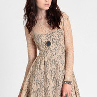 Cillia Lace Dress By Motel - $48.50 : ThreadSence, Women's Indie & Bohemian Clothing, Dresses, & Accessories