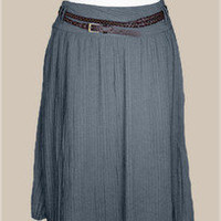 Shopkempt {Always Stylishly Kempt} - Sabine Pleated Skirt