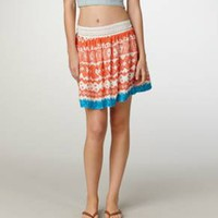 AE Tribal Flared Skirt