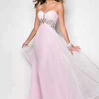 Blush 9545 at Prom Dress Shop