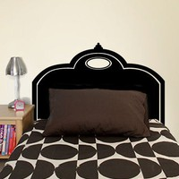 Classic Headboard Decal - Decals - Wall