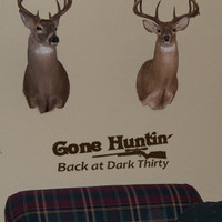 Gone Hunting Vinyl Wall Art  Decal