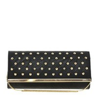 Studded Clutch Bag