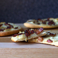 pizza with bacon, onions and cream | smitten kitchen