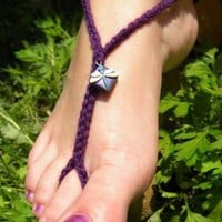 Noble Dragonfly Toekinis cute blue and purple by RaigeCreations