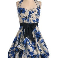 Indigo Gardens Dress | Mod Retro Vintage Dresses | ModCloth.com