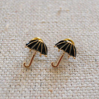 Rainy Day Earrings [3673] - $9.00 : Vintage Inspired Clothing & Affordable Fall Frocks, deloom | Modern. Vintage. Crafted.