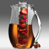 Amazon.com: Prodyne Fruit Infusion 93-Ounce Natural Fruit Flavor Pitcher: Kitchen & Dining