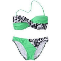 Target : Junior's 2-Piece Swimsuit -Tribal Print : Image Zoom