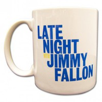 Late Night with Jimmy Fallon Logo Mug