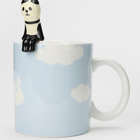 Urban Outfitters - Cloud Mug And Spoon Set