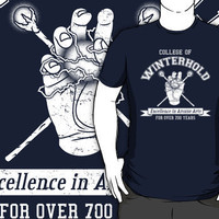 """College of Winterhold"" T-Shirts & Hoodies by Adho1982 