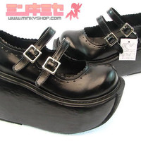 Japanese Lolita Platform Shoes - MinkyShop