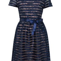 Stripe Ribbon Dress - View All  - Dress Shop