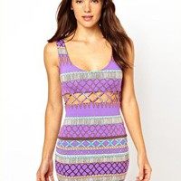 Lattice Beach Dress