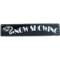 Amazon.com: NOW SHOWING movie theatre sign home theater decor: Home & Kitchen
