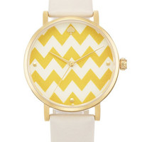 kate spade new york &#x27;metro&#x27; patterned dial watch | Nordstrom