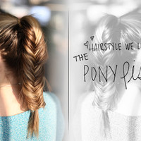 Hairstyle We Love: The PonyFish
