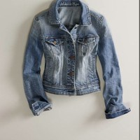 AE Denim Jacket - American Eagle Outfitters