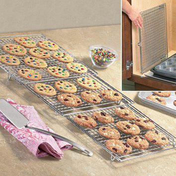 Expandable Cooling Rack - Fresh Finds - Cooking > Gadgets & Tools