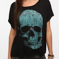 Five Crown Bandana Skull Tee