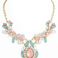 Pink Jewel of Bodrum Necklace – Modeets.com