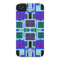 Geometric Jumble iPhone 4 Case-Mate Cases from Zazzle.com