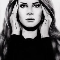 Lana Art Print by Fruzsina Nagy | Society6