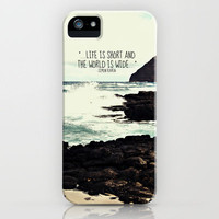 LIFE IS SHORT  iPhone Case by Tara Yarte  | Society6