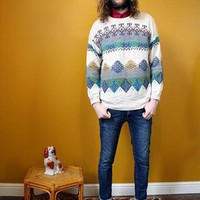 Granddad diamond knit Jumper | Dorothy's Wardrobe | ASOS Marketplace