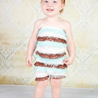 Mint Chocolate Pettiromper by Spoiled Rotten Kids