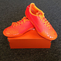 Nike5 Elastico Finale Bright Crimson New Authentic Indoor Soccer Shoe Futsal