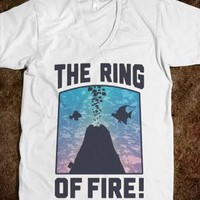 The Ring of Fire (V-Neck) - Fashionista