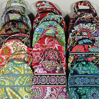 NWT VERA BRADLEY Let's Do Lunch Travel Tote Purse Lunch Box NEW