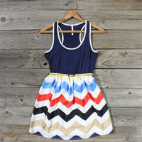 Chevron Sunrise Dress, Sweet Women's Country Clothing
