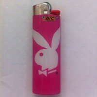 BIC Pink Playboy Bunny Lighter