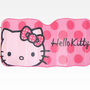 Hello Kitty Car Sunshade: Pink Dot