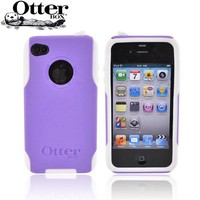 Buy Otterbox AT&T/Verizon Apple iPhone 4 Hybrid Commuter Case Screen APL4-I4UNI-B7-E Purple/White Free Ship AccessoryGeeks