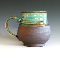 Extra Extra Large Coffee Mug Holds 40oz handmade by ocpottery