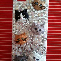 Kittyys Kupboard  Cat Iphone 5 Case
