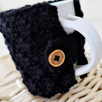 Black Coffee Cozy Knit