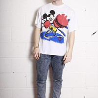 Vintage 80's Mickey Mouse Boxing T-Shirt | Sam Greenberg Vintage | ASOS Marketplace
