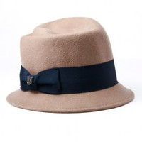 brixton - portman felt hat (taupe) - Brixton | 80&#x27;s Purple