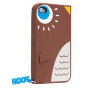 Hoot - Silicone iPhone 4 / 4S Case